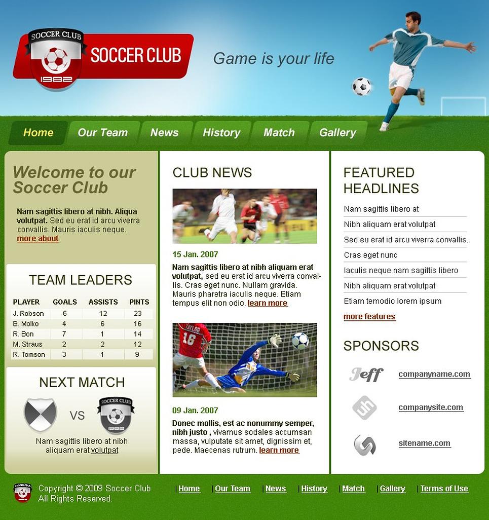 Шаблоны сайтов ставки на спорт