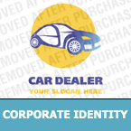 Cars Corporate Identity Template 13595