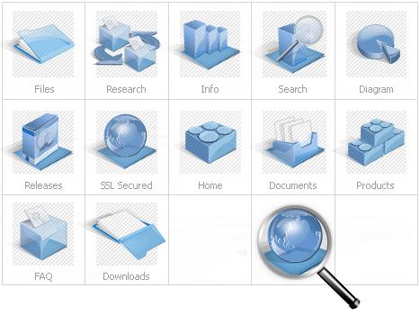 Icon Set Template 13625 Screenshots