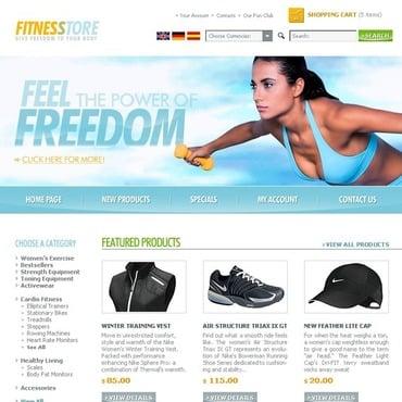 Exercise Website Templates by Daniel C. Adams