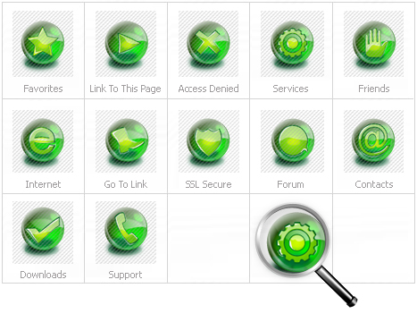 Icon Set Template 13669 Screenshots