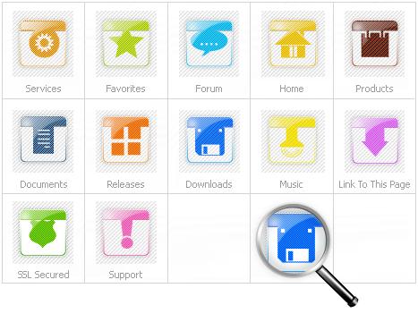 Icon Set Template 13670 Screenshots