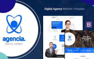 Agencia | Creative Agency WordPress Theme