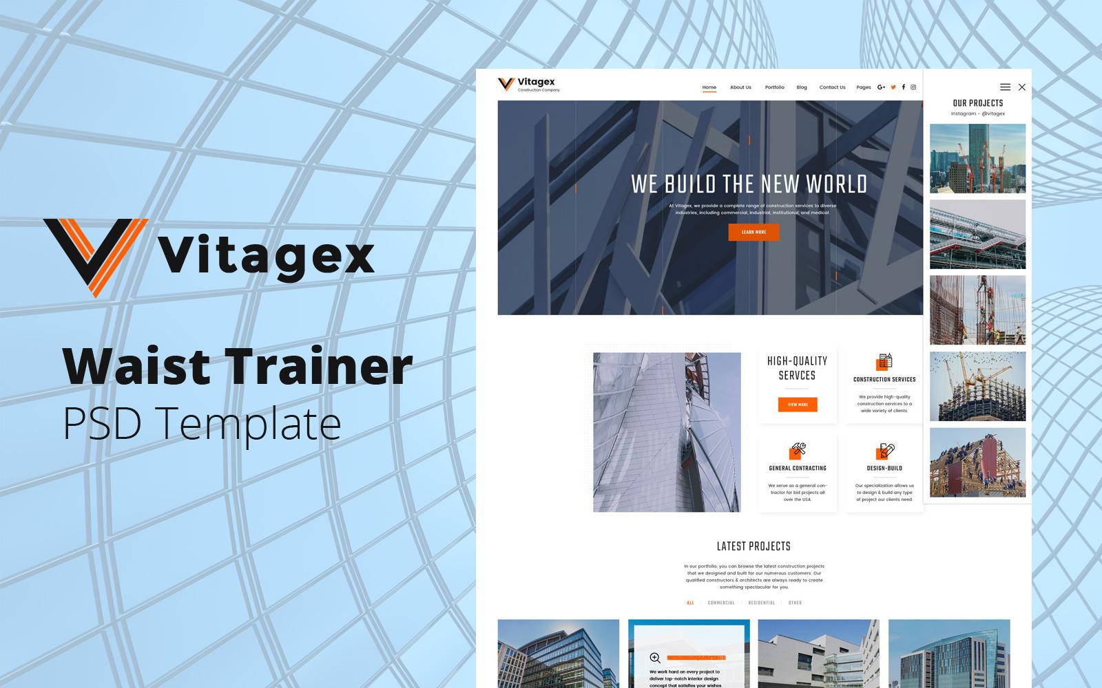 Vitagex - Construction Company №136117