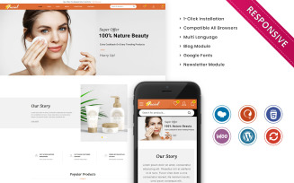 Facial - The Ladies Cosmetic Store WooCommerce Theme