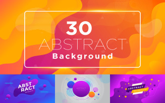 Modern Abstract Banner Background