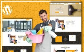 Tiloor - Cleaning Service WordPress Theme