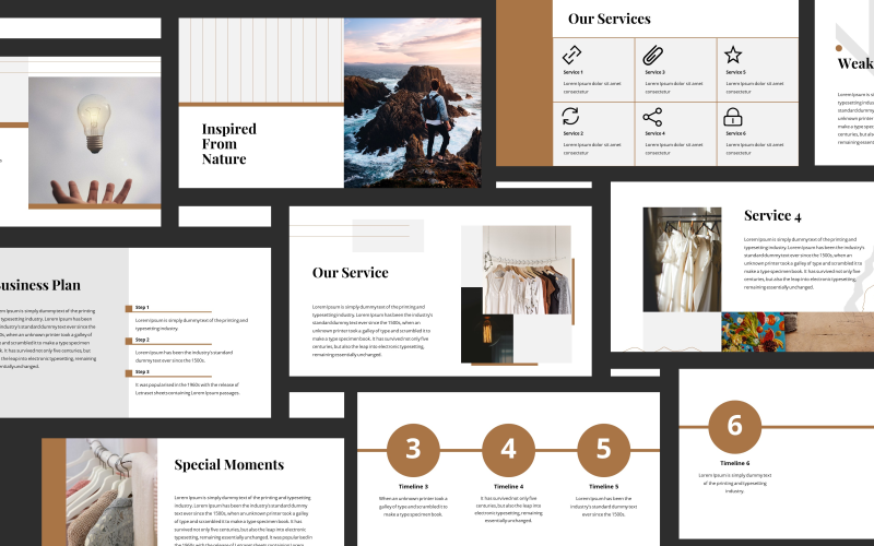 Tania Fashion Presentation PowerPoint Template