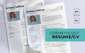 Cosmetology Free Resume Template