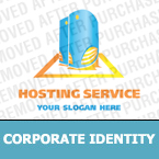 Web Hosting Corporate Identity Template 13705