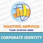 Web Hosting Corporate Identity Template 13710