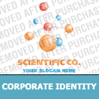 Science Corporate Identity Template 13783