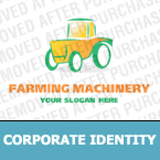Agriculture Corporate Identity Template 13786