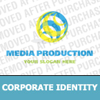 Media Corporate Identity Template 13794
