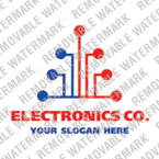 Electronics Logo  Template 13795