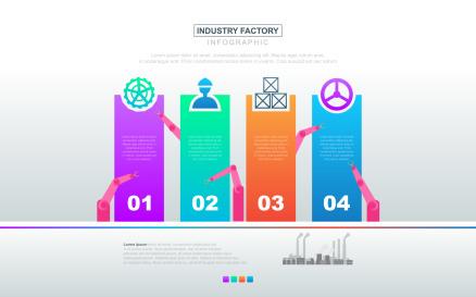 Presentation Chart Data Infographic Element