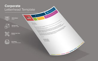 Letterhead Design - Corporate Identity Template