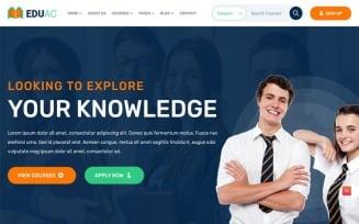 Eduac - Education Website Template