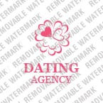 Dating Logo  Template 13829