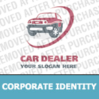 Cars Corporate Identity Template 13896