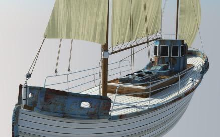 Odessa Fishing Boat Model