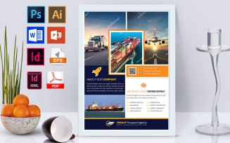 Poster   Freight Transport Agency Vol-02 Corporate Identity Template