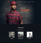 Singer Website Design - Sansar - image