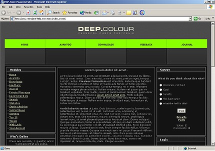 Шаблон для сайта (13935)