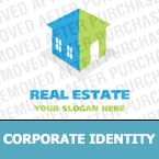 Real Estate Corporate Identity Template 13982