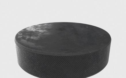 Hockey Puck 3D Model