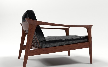 Colorado Armchair by Folke Ohlsson 3D Model