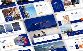 Constructor - Construction Presentation Template