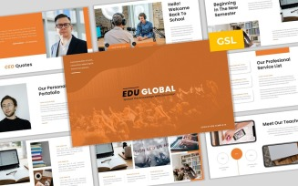 Global Edu - Education Google Slides Presentation Template