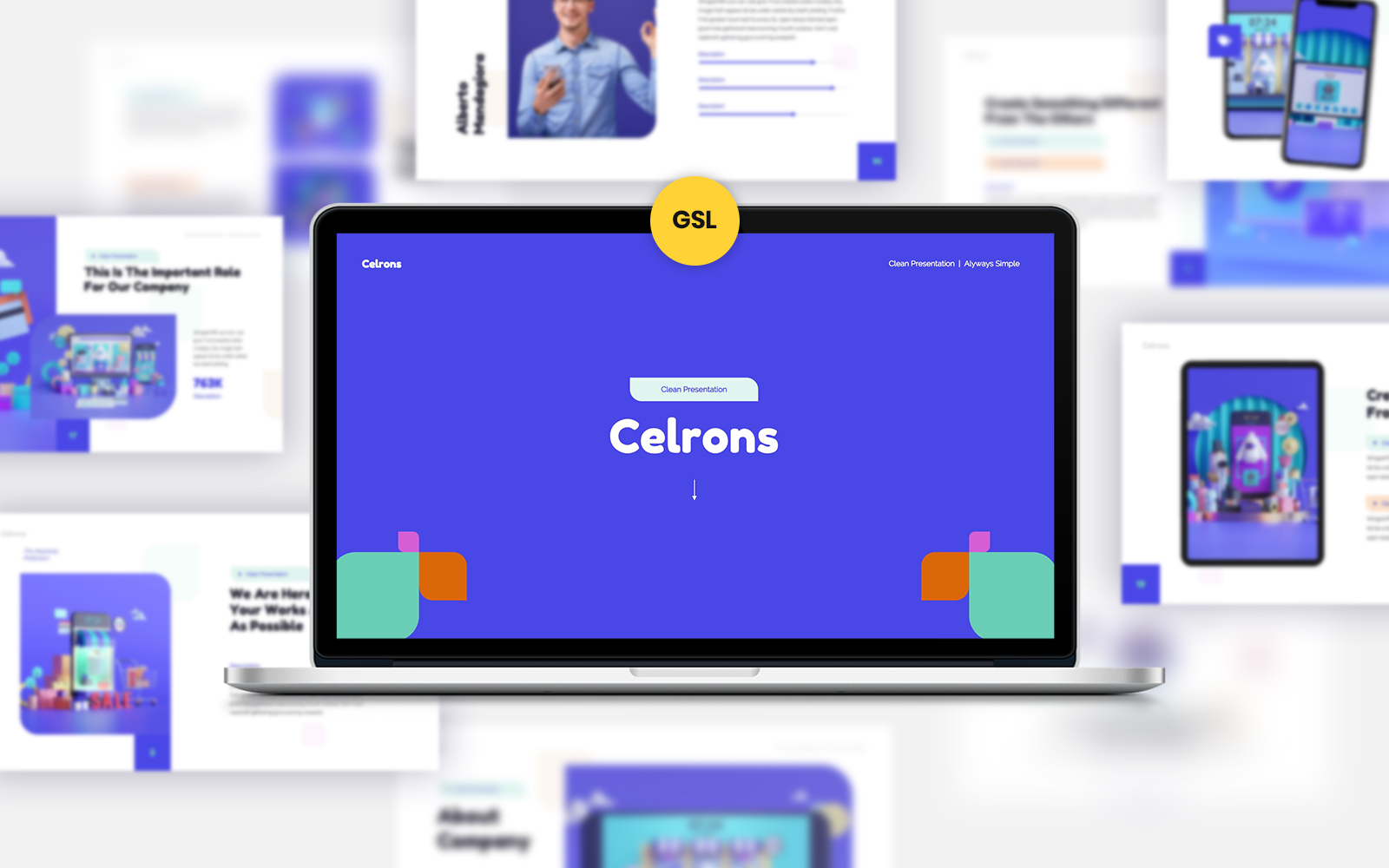 Celrons Google Slides #139862
