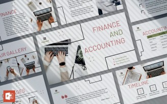 Finance and Accounting Presentation PowerPoint template