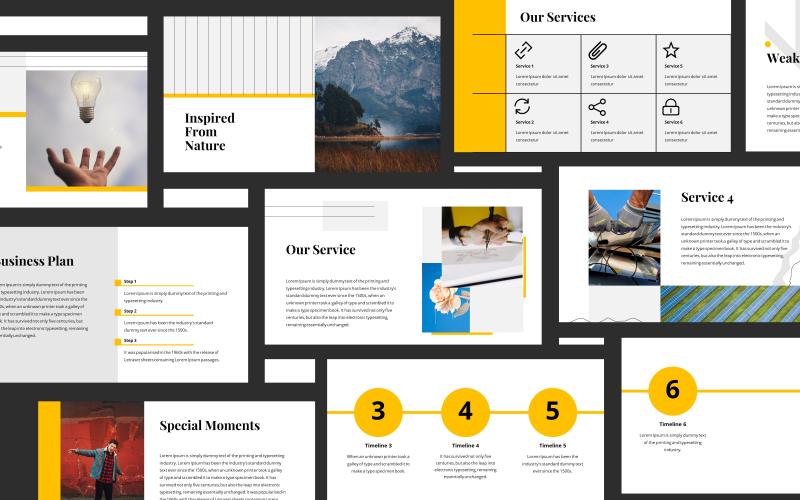 Antares Minimalist Presentation PowerPoint Template