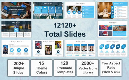 Mega Business PowerPoint Template