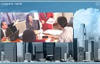 denver style site graphic designs flash intro template real estate city construction architecture sky skyscraper
