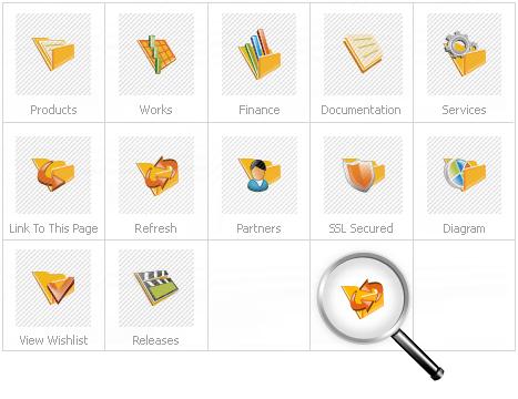 Icon Set Template 14050 Screenshots
