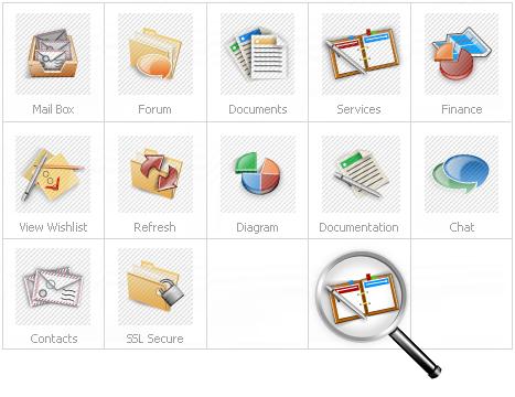 Icon Set Template 14081 Screenshots
