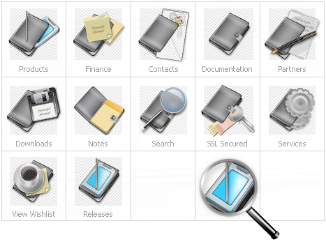 Icon Set Template 14094 Screenshots
