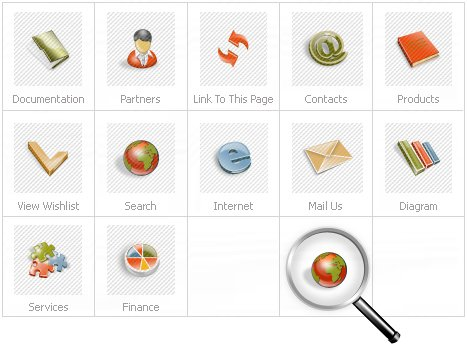 Icon Set Template 14095 Screenshots
