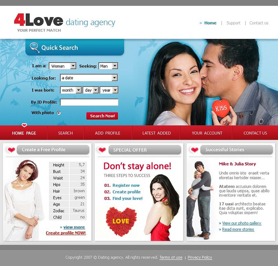 Сайт знакомств с веб