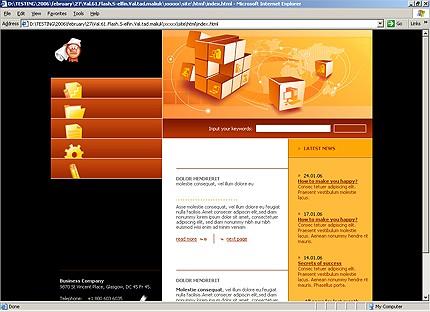 Website Template #14112