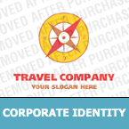 Travel Corporate Identity Template 14129