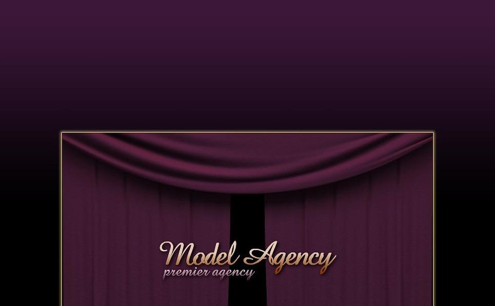 Szablon Intro Flash #14145 na temat: agencja modelek New Screenshots BIG