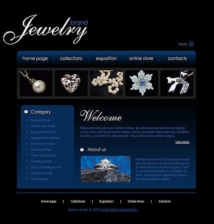 Realizare site magazin bijuterii