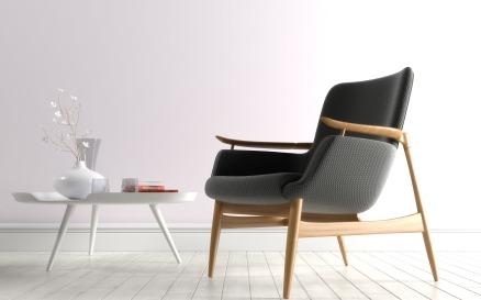 Easy Chair NV53 by Finn Juhn Design Model