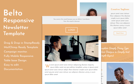 Belto - Responsive Email Newsletter Template