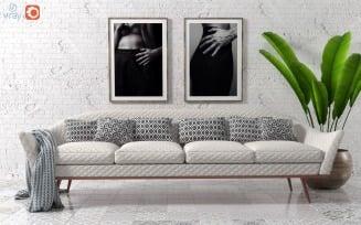 Sofa by Ico Parisi 3D Model